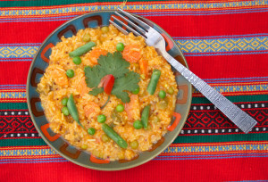 South Indian Tomato Rice pg 95